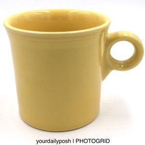 Fiesta Sunflower yellow Tom & Jerry coffee mug